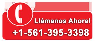 Llámanos Ahora - +1-561-395-3398